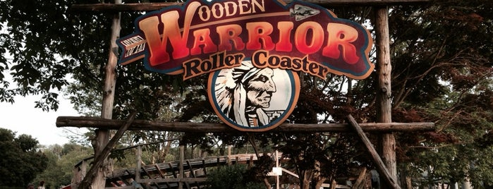 Wooden Warrior is one of ROLLER COASTERS 4.
