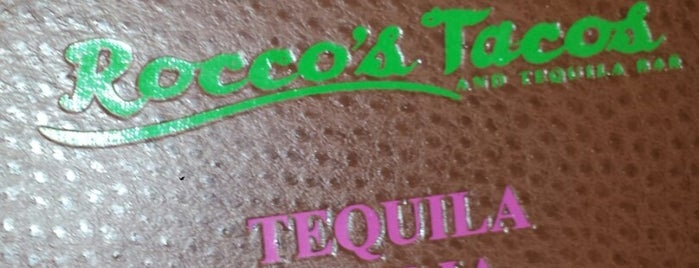 Rocco's Tacos and Tequila Bar Brooklyn is one of Tempat yang Disukai Jason.