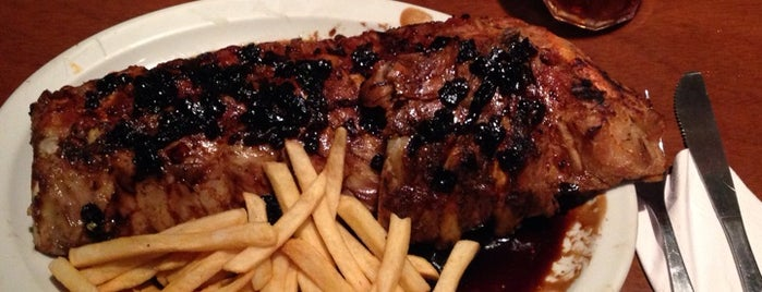 T.G.I. Friday's is one of Dónde comer las mejores ribs en Buenos Aires.