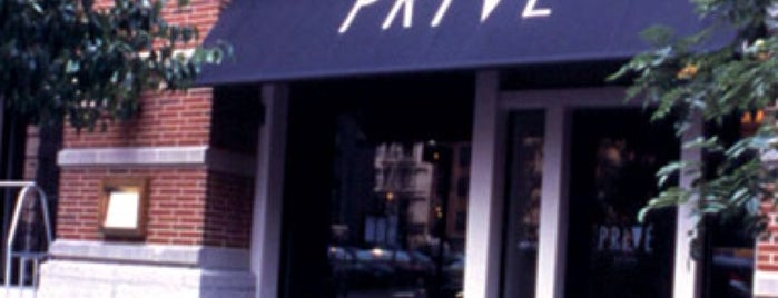 Privé is one of Locais salvos de Stephanie.