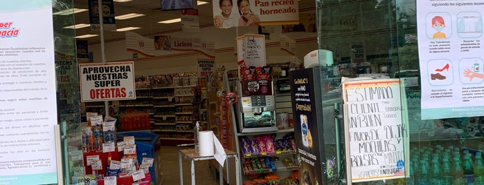 Farmacias Guadalajara is one of Lugares favoritos de Ana.