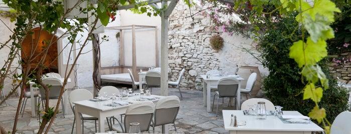 Daphne Restaurant is one of Paros places.