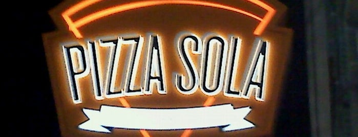 Pizza Sola is one of Pizza in the burgh.