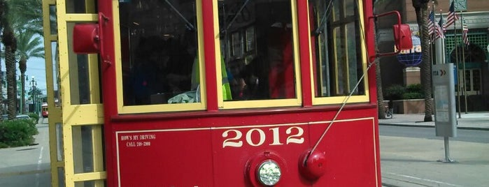 Canal Street Streetcar is one of Best of New Orleans (mainly coffee shops).