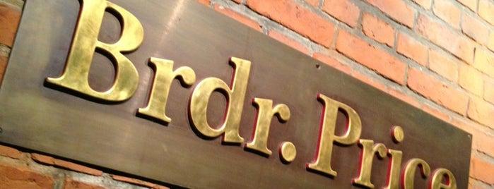 Restaurant Brdr. Price is one of nordics.