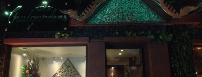 Thaigardens is one of Mexico City Best-of-a-Kind Restaurants.