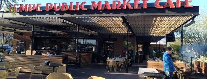 Tempe Public Market Cafe is one of สถานที่ที่ Justin Eats ถูกใจ.