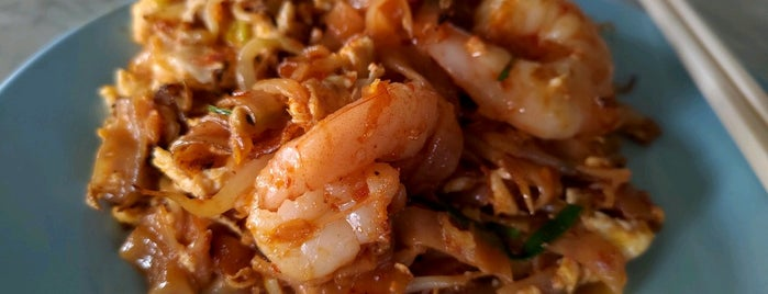 Ah Leng Char Koay Teow & Fried Rice 亞龍炒粿條 is one of Penang | Eats.