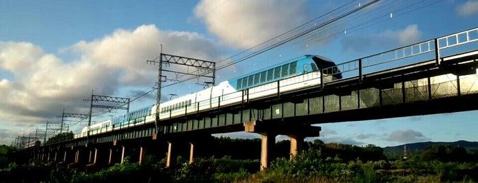 近鉄京都線 木津川橋梁 is one of 撮り鉄スポット.