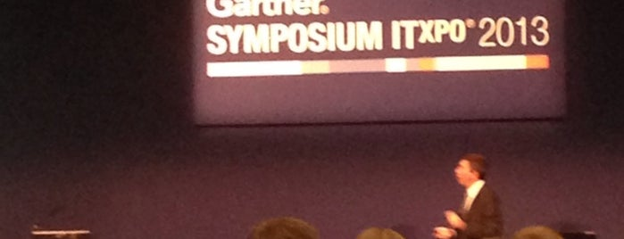 Gartner Symposium/ITxpo Barcelona is one of Locais curtidos por Mike.