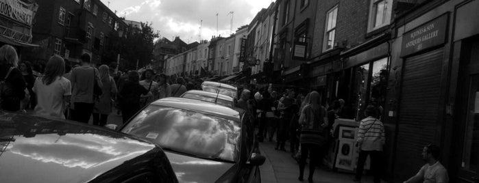 ตลาดพอร์โตเบลโล is one of London.