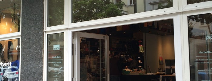 HHV Store is one of Berlin - Record Stores.