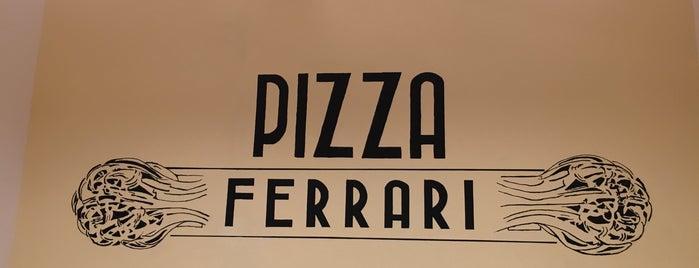 Pizza Ferrari is one of Lugares favoritos de Giuseppe.