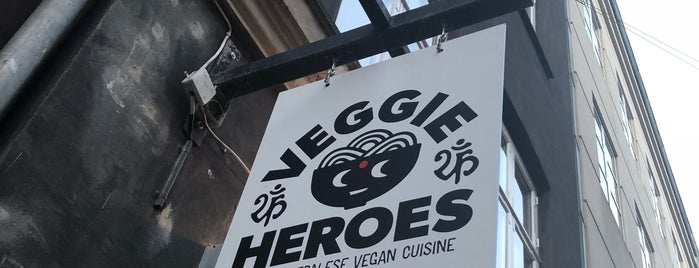 Veggie Heroes is one of Locais curtidos por Gitte.