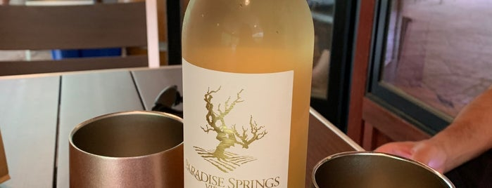 Paradise Springs Winery is one of VA Wineries / Farms.