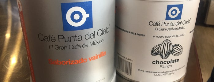 Café Punta del Cielo is one of Por amor al café.
