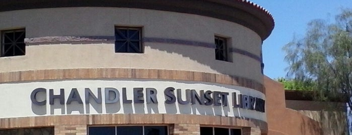 Chandler Sunset Library is one of I'm Christa H. and I approve this venue..