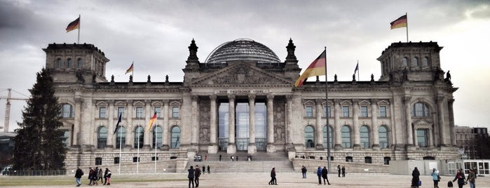 Reichstag is one of Berlin #4sqcities.