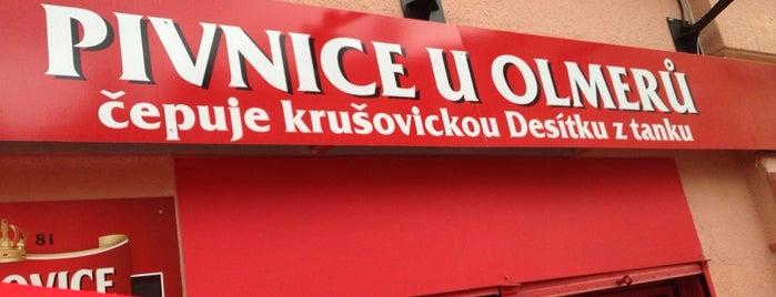 Pivnice U Olmeru is one of Locais curtidos por Ivoš.