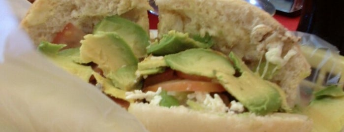 Tortas Jerry is one of Madero.