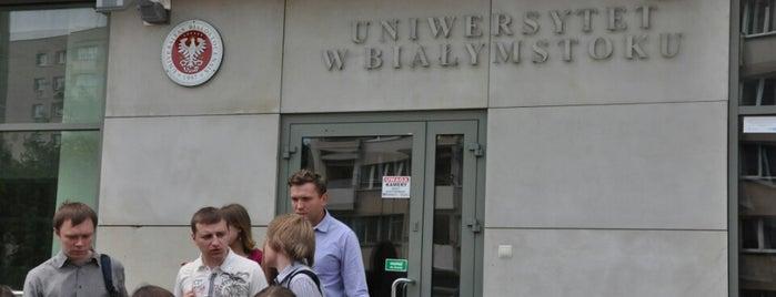 Wydział Historyczno-Socjologiczny Uniwersytetu w Białymstoku is one of Locais curtidos por Selim.