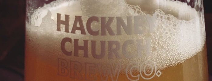 Hackney Church Brew Co. is one of pubs/taprooms.