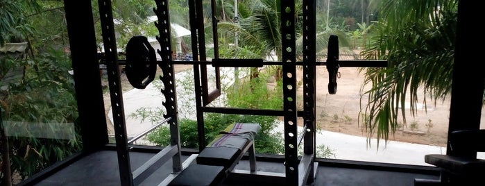 The Press - Fitness Club is one of Ko Phangan.