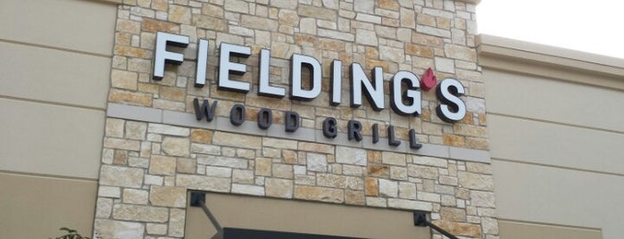 Fielding's Wood Grill is one of #seeyouintexas.