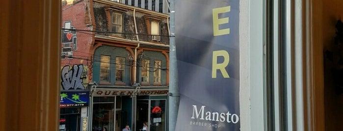 Manstop Barbershop is one of Toronto.