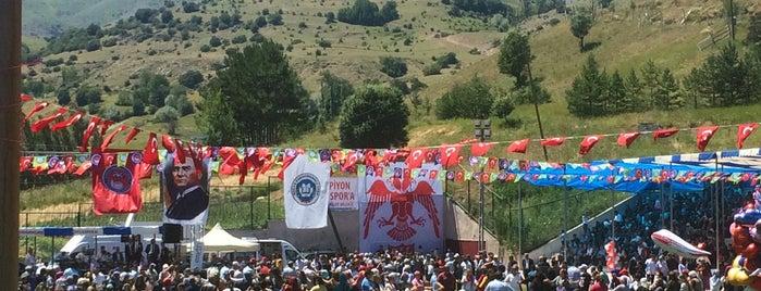 DOĞANŞAR FESTİVAL VE GÜREŞ YERİ is one of Devrim 님이 좋아한 장소.