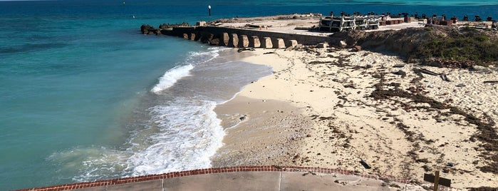 Fort Jefferson is one of Top US Landmarks.