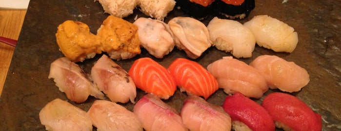 Sushi Yasuda is one of NYC eats.