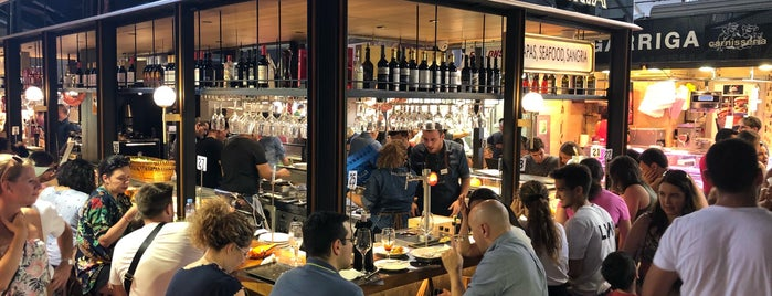 Bar Boqueria is one of สถานที่ที่ Giovanna ถูกใจ.