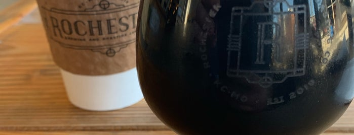 Rochester Brewing & Roasting Co. is one of BBQ Trip.