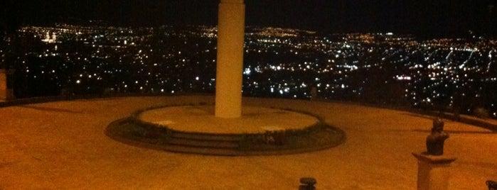 Bandera Monumental is one of Morelia.