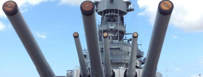 USS Missouri Memorial is one of Hawaii.