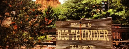 Big Thunder Mountain Railroad is one of Theme Parks!.