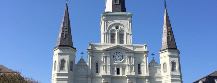 Jackson Square is one of New Orleans.