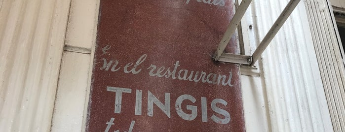 Cafe Tingis is one of Marrakech & Essaouira & Tanger.