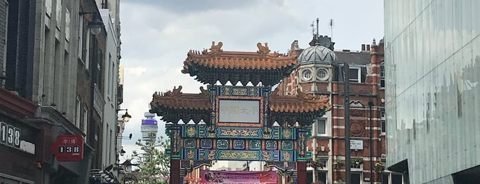 China Town is one of London.