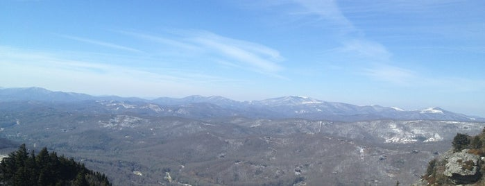 Grandfather Mountain is one of Blue Ridge Parkway.