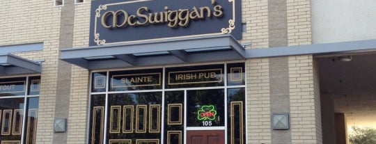 McSwiggan's Irish Pub is one of Dallas Restaurants List#1.
