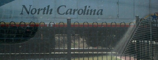 Amtrak - Kannapolis Station (KAN) is one of Trains - North Carolina.