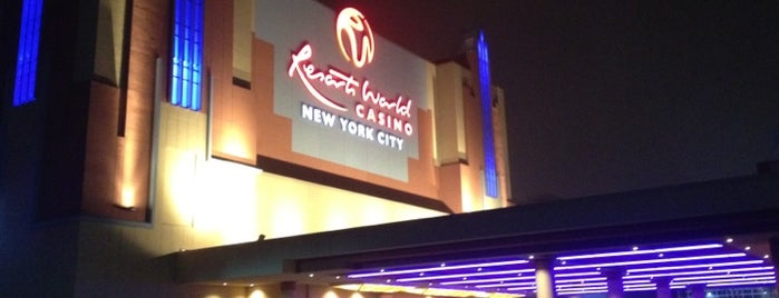 Resorts World Casino - New York City is one of Locais curtidos por Erica.
