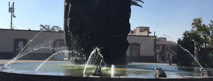 Fuente de la diosa Chalchiuhtlicue is one of Orte, die Alejandra gefallen.