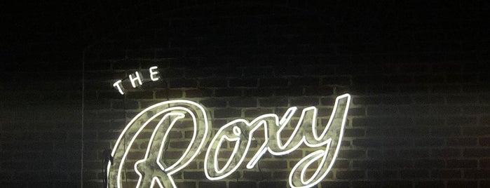 The Roxy Hotel Bar is one of N Y C.  t r y.