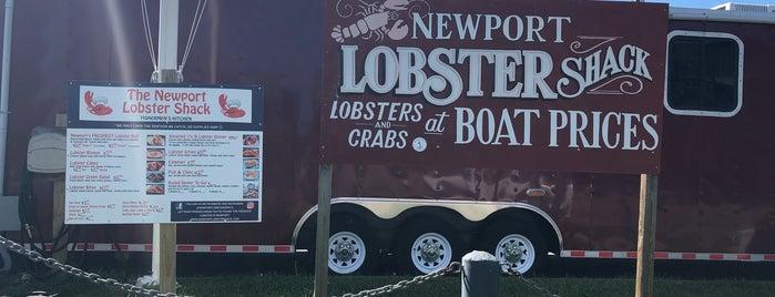 Newport Lobster Shack is one of Lugares favoritos de Michael.