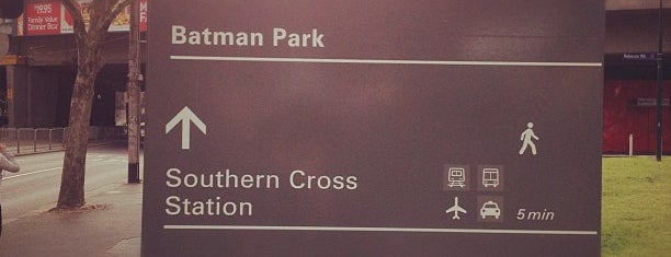 Batman Park is one of Australia and New Zealand.