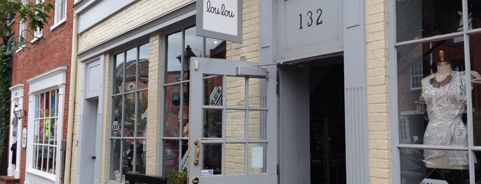 Lou Lou Boutique is one of Exploring Alexandria.