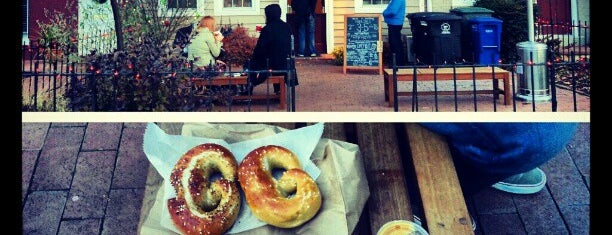 The Pretzel Bakery is one of Best Places DC/Metro Area Part 1.